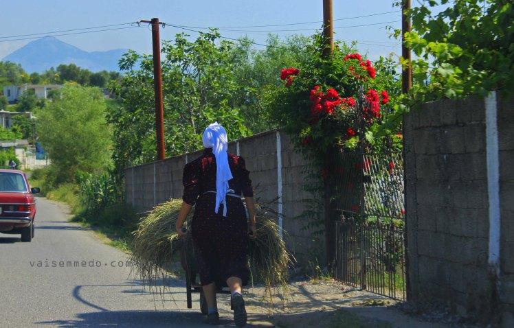Albânia - uma cena comum por lá