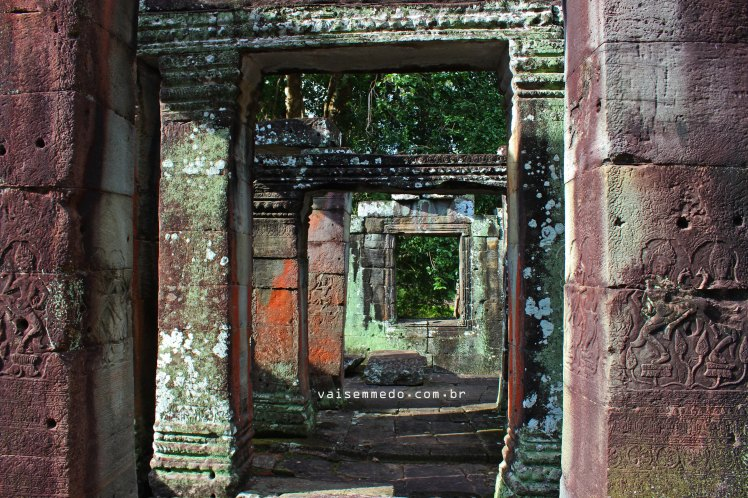 Templos em Angkor Wat