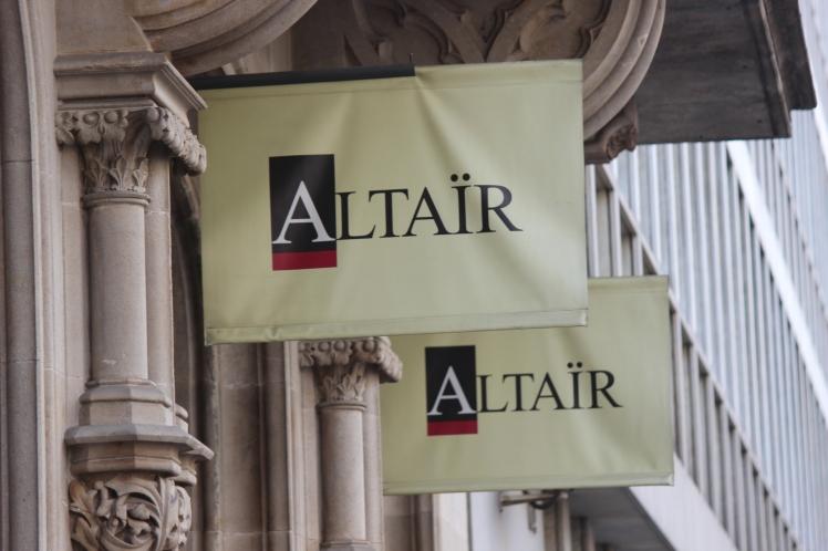 Altaïr, uma livraria especializada em livros de viagens.