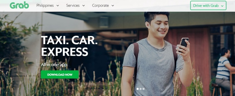Grabtaxi, o serviço que praticamente salvou a minha estadia em Manila, nas Filipinas. Também disponível na Malásia, Indonésia, Tailândia, Vietnam e Estados Unidos.
