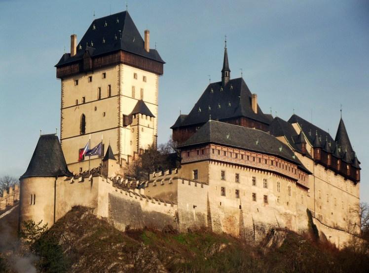 O castelo de Karlštejn. (Foto: arquivo pessoal)